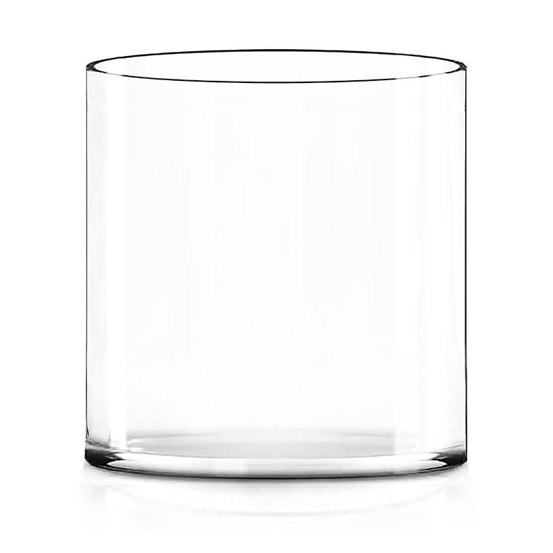 Large Glass Cylinder Flower Vase Candle Holder Centerpieces Glass Vases Depot