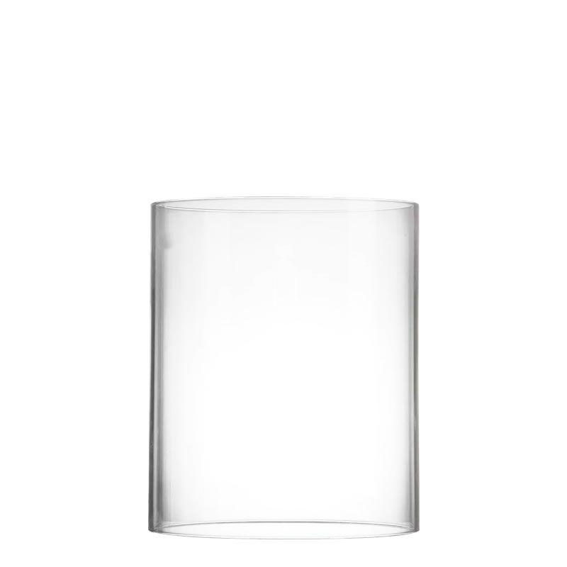 6 X 5 Inch Open Ended Hurricane Candle Shade Chimney Tube Glass Vases Depot