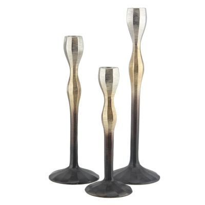 Ombre Candle Stick Holder Set