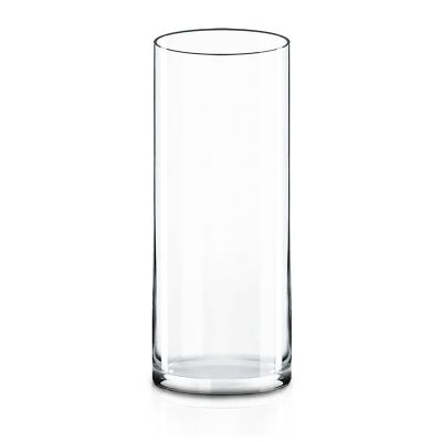 """14"""" Decorative Glass Cylinder Candle Holder Vases"""