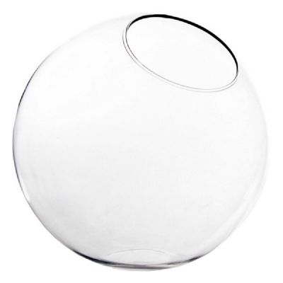 """7.75"""" Glass Plant Terrarium Slop Bubble Bowl"""