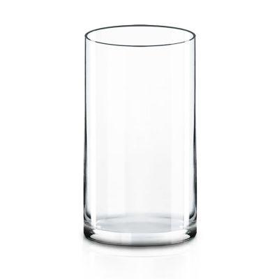 "12"" Decorative Glass Cylinder Vase"