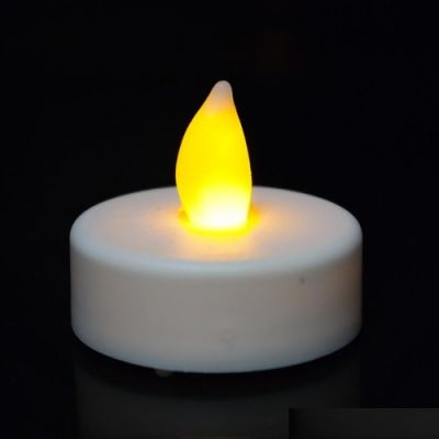 1.5 inch Flameless White LED Tealight Candles