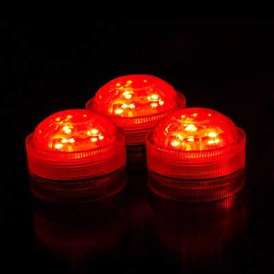 Red Submersible Long-Lasting Floral LED Lights