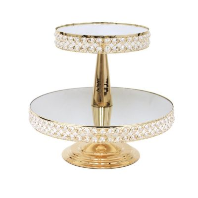 GOLD CRYSTAL STANDS
