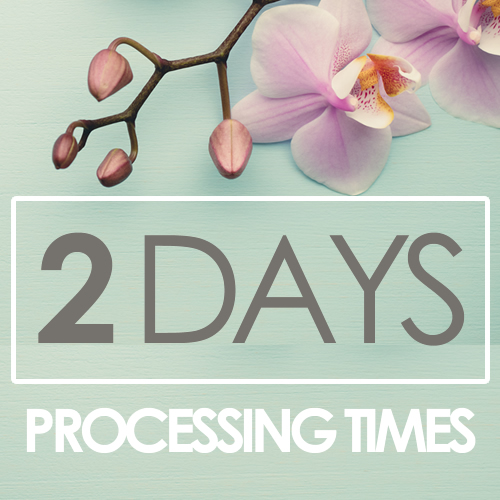 2 days processing time
