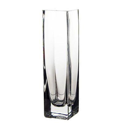 8 Decorative Clear Glass Square Bud Vase Glass Vases Depot