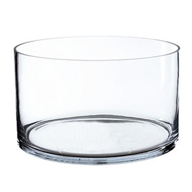 8 X 12 Inch Decorative Glass Cylinder Vase Glass Vases Depot