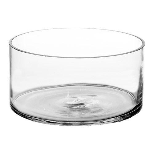 4 X 8 Inch Glass Cylinder Vase Candle Holder Modern Style Decor