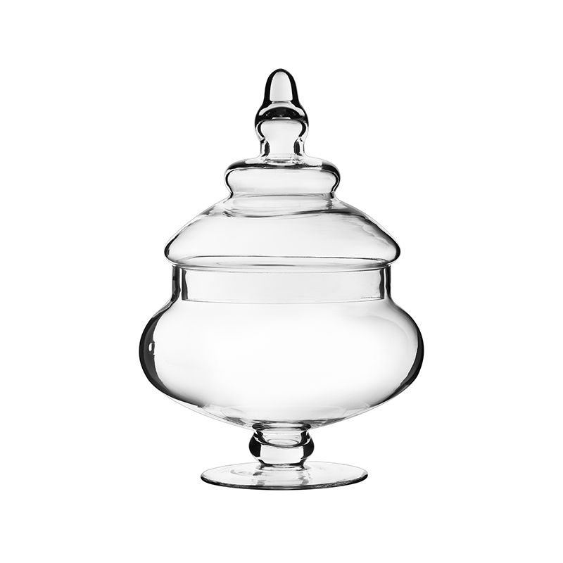 10 Glass Apothecary Jar Wedding Candy Buffet Glass Container
