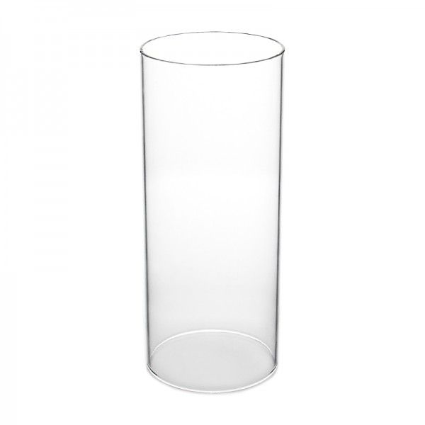 10 X 6 In Open Ended Glass Hurricane Candle Shade Chimney Tube