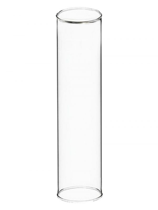 24 X 6 In Open Ended Glass Hurricane Candle Shade Chimney Tube