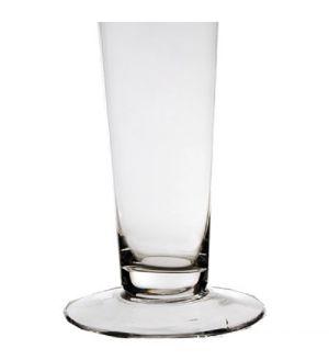 "20"" Clear Glass Trumpet Centerpiece Vase"