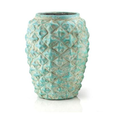 Green PINEAPPLE VASE