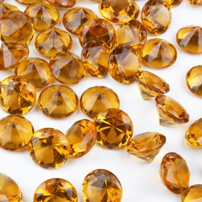 "1.2"" Violet Acrylic Crystal Diamond Gemstone Vase Fillers"