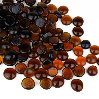 Amber Flat Gemstone Bowl and Vase Fillers