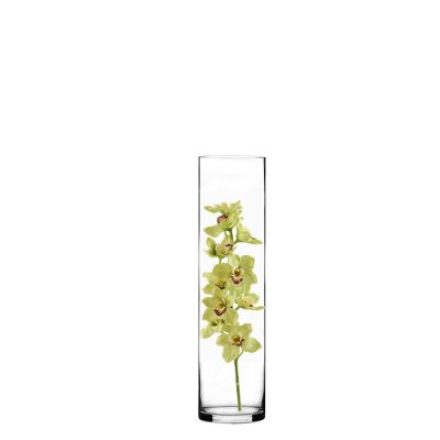 "16"" Decorative Glass Cylinder Vase"