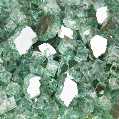 Clear Glass Flat Gemstone Bowl and Vase Fillers