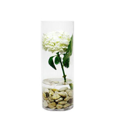 "16"" Decorative Glass Cylinder Vase"