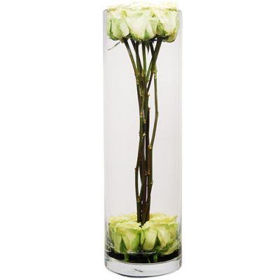 "18"" Decorative Glass Cylinder Candle Holder Vases"