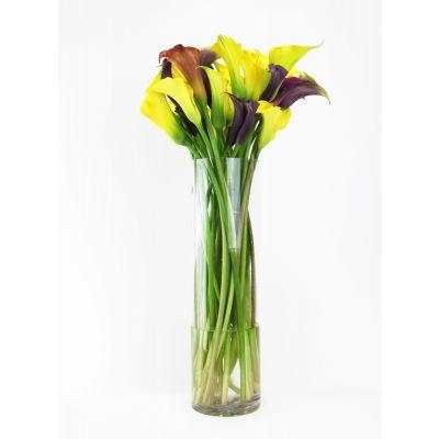 """24"""" Decorative Glass Cylinder Candle Holder Vases"""