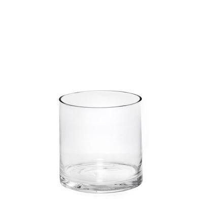 """5"""" Decorative Glass Cylinder Candle Holder Vases"""