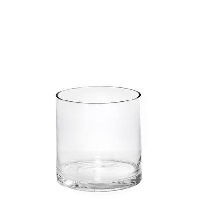 """6"""" Decorative Glass Cylinder Candle Holder Vases"""