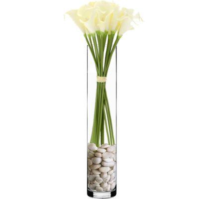 "24"" Decorative Glass Cylinder Vase"