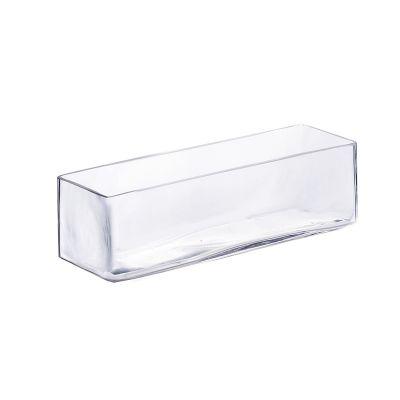 """4"""" Long Rectangular Glass Vase"""