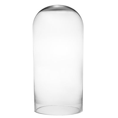 "24"" x 12"" Glass Dome Cloche Terrarium Bell Jar"