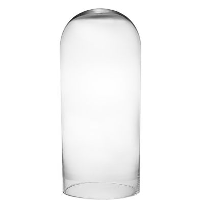"28"" x 12"" Glass Dome Cloche Terrarium Bell Jar"