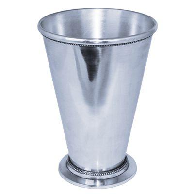"8.75"" Aluminum Silver Mint Julep Cup"
