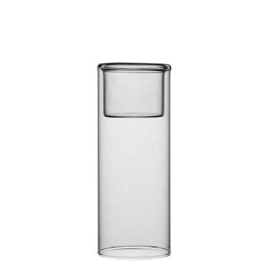 "6.25"" Glass Tealight Votive Candle Holder Bud Vase"