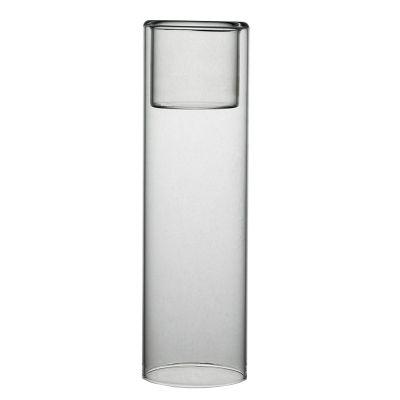 "8"" Glass Tealight Votive Candle Holder Bud Vase"