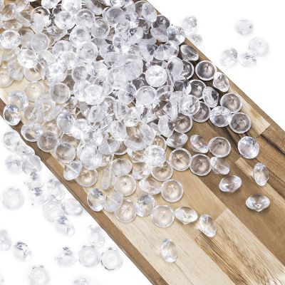 "0.75"" Clear Acrylic Crystal Diamond Gemstone Vase Fillers"