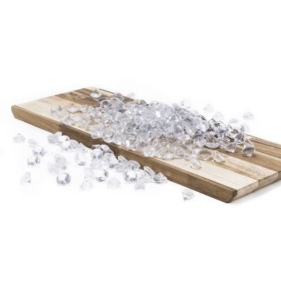"0.75"" Clear Acrylic Crystal Diamond Gemstone Vase Fillers"