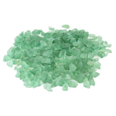 Frosted Green Sea Glass Bowl and Vase Fillers