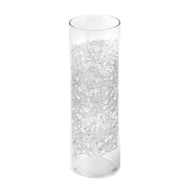 "0.25"" Red Vase Filler Acrylic Rain Drops"