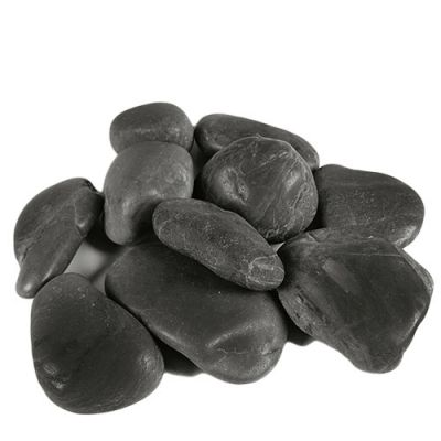 Black Color River Pebble Bowl Vase Fillers